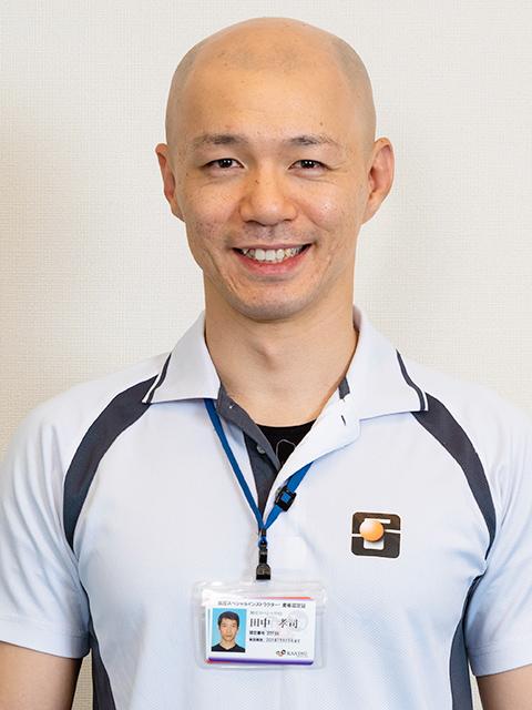 写真:トレーナー 米澤 悟